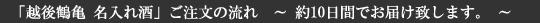 新潟の日本酒「越後鶴亀」,越後鶴亀,日本酒 新潟,新潟の日本酒,日本酒オリジナルラベル,名入れ酒